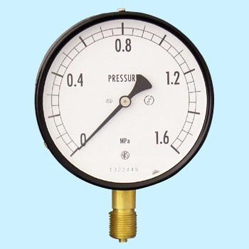 长野计器 NKS AE10-131-1.6MPa 普通型压力计(A框架立形G 38)100Φ NKS AE10 131 1 6MPa A G 38 100