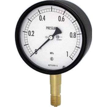 长野计器 NKS BA10-121 0.6MPa 密闭型压力计(A框架立型)60Φ NKS BA10 121 0 6MPa A 60