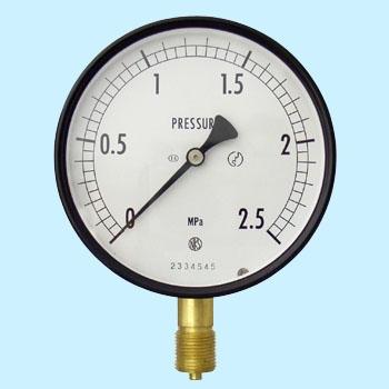 长野计器 NKS AE10-131-2.5MPa 普通型压力计(A框架立形G 38)100Φ NKS AE10 131 2 5MPa A G 38 100