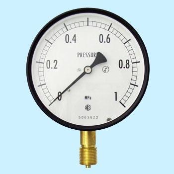 长野计器 NKS AE10-131-1.0MPa 普通型压力计(A框架立形G 38)100Φ NKS AE10 131 1 0MPa A G 38 100