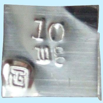 東京硝子 TGK 738-65-53-21 标准砝码10mg单品 TGK 738 65 53 21 10mg