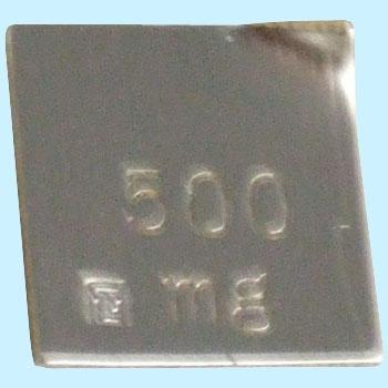 東京硝子 TGK 738-65-53-26 标准砝码500mg单品 TGK 738 65 53 26 500mg