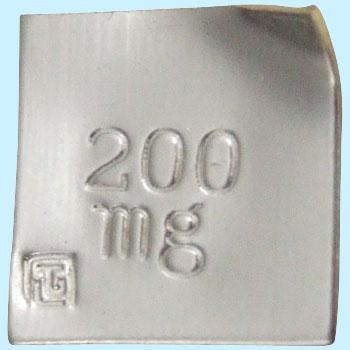 東京硝子 TGK 738-65-53-25 标准砝码200mg单品 TGK 738 65 53 25 200mg