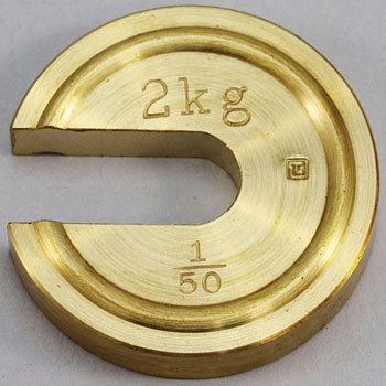 大和 Yamato 2kg 1 标准砝码 Yamato 2kg 1