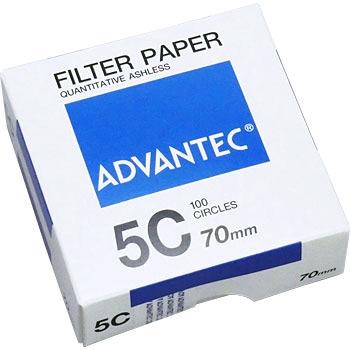 ADVANTEC 1531070 圆形定量纸No.5C ADVANTEC 1531070 No 5C