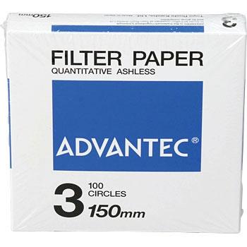 ADVANTEC 1301150 圆形定量纸No.3 ADVANTEC 1301150 No 3
