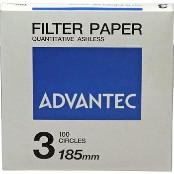 ADVANTEC 1301185 圆形定量纸No.3 ADVANTEC 1301185 No 3