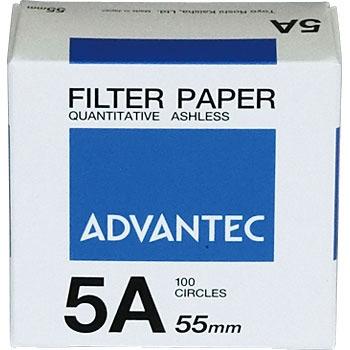 ADVANTEC 1511055 圆形定量纸No.5A ADVANTEC 1511055 No 5A
