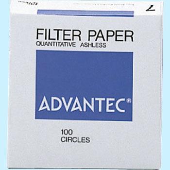 ADVANTEC 1701090 圆形定量纸No.7