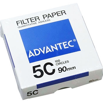 ADVANTEC 1531090 圆形定量纸No.5C