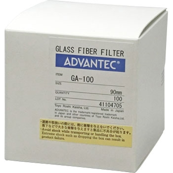 ADVANTEC 36281090 玻璃纸GA - 100 ADVANTEC 36281090 GA 100