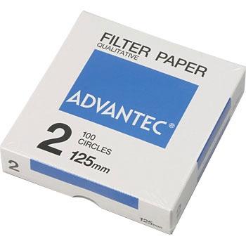 ADVANTEC 21125 圆形定性纸No.2