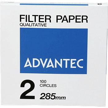 ADVANTEC 21285 圆形定性纸No.2 ADVANTEC 21285 No 2